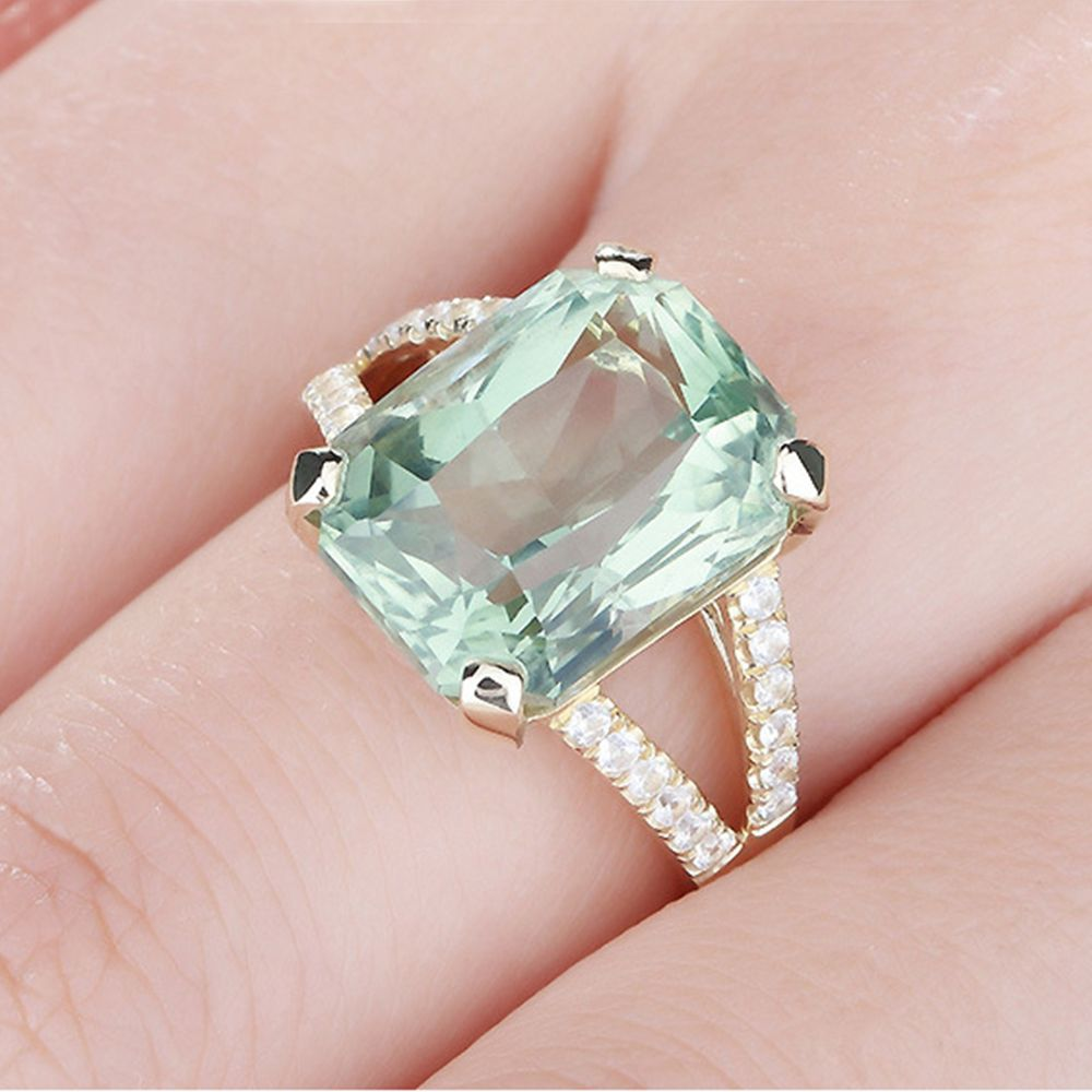 Buy green tourmaline rings and get free shipping on AliExpress.com