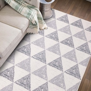 Modern Geometric Carpet Pattern Nordic Living Room Rug Bedroom Bedside Mat Tatami Rectangular Mats