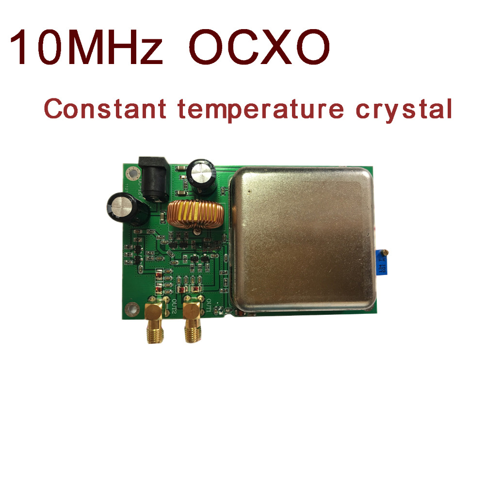 10MHz OCXO Constant Temperature Crystal Clock Frequency Reference High Stability dc 12v