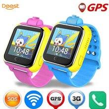 Deest jm13 3G Смарт-часы Камера GPS фунтов WI-FI детские наручные SOS Мониторы трекер сигнализации для IOS Android SmartWatch pk q90 Q50