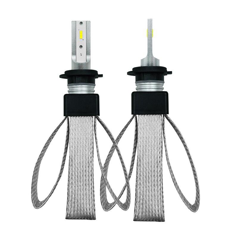 Huiermeimi 2Pcs Car Headlight H7 LED H4 led Bulb H8 H9 H11 H1 9005 9006 6000K