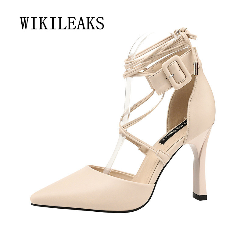 cross-tied shoes woman fetish high heels sexy pumps women shoes zapatos mujer tacon gladiator sandals women party wedding shoes size 35 43 women pumps high heels ladies sexy lace up gladiator sandals thin heeled gladiator shoes zapatos mujer shoes woman