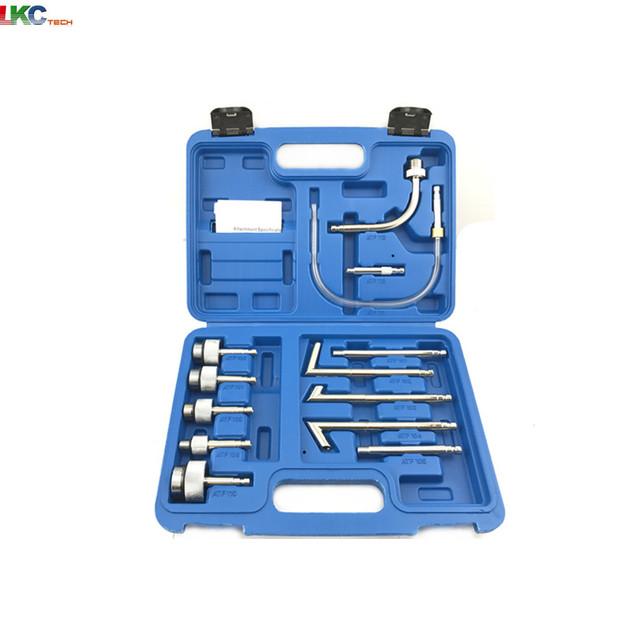 Transmission Oil Refilling Refill Tool Kit 13Pcs Oil Filling Adaptor Set  CVT Transmission Service Adapter ATF Adapters-in Code Readers & Scan Tools