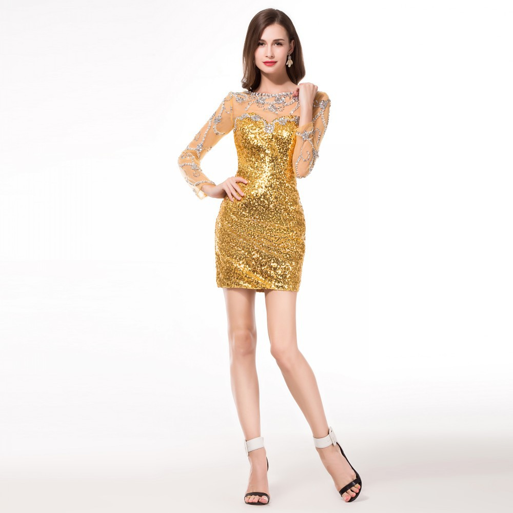 Cocktail Party Sequin Dress