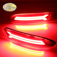 цена на Led rear bumper lights for Toyota Avanza 2015 2016 Led Braking Driving lamp reflector