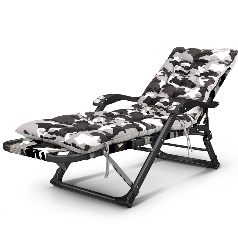 Folding Reclining Chair Outdoor Camping Bed Sun Lounger