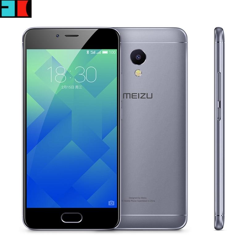 "Original MEIZU M5S MTK6753 Octa Core 3GB RAM 16/32GB ROM Cell Phone 5.2"" HD IPS 13.0mp Fingerprint Fast Charging Mobile Phone"