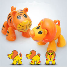 Cartoon Puzzle Educational Baby Rattles Mobiles  Children Fingers Flexible Training Science Twisting Animal Toy