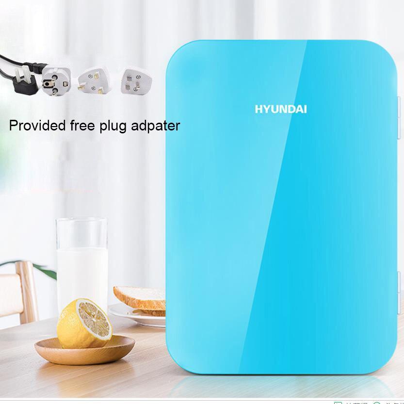 6L Portable Car Fridge Freezer Cooler Warmer 12V 220V For Car Mini Camping Refrigerator Outdoor Refrigerator Home Car Use