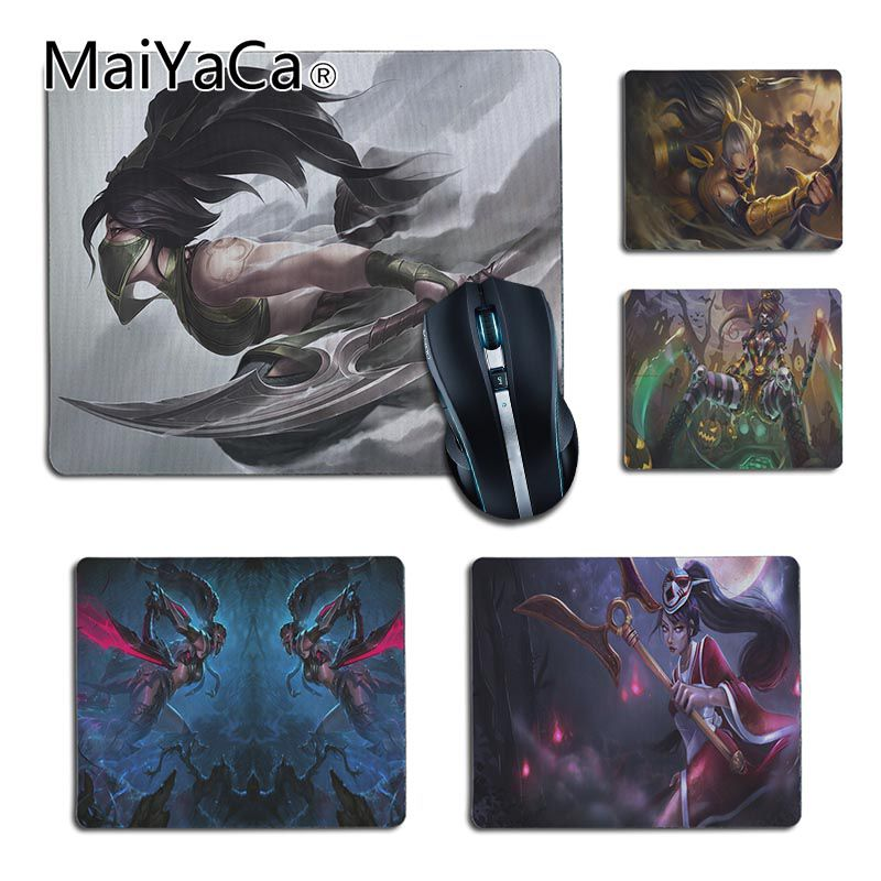 MaiYaCa My Favorite Akali League Of Legends Office Mice Rubber Mouse Pad Top Selling Wholesale Gaming Pad Mouse Desk Pad