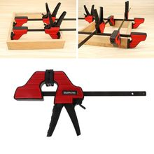 F Clamp Wood-Working Bar Clamp Quick Ratchet Release Speed Squeeze DIY Hand Tool