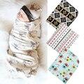 Aden Anais Musselina de Algodão macio Floral Bebê Recém-nascido Swaddle Cobertor Toalha de Banho
