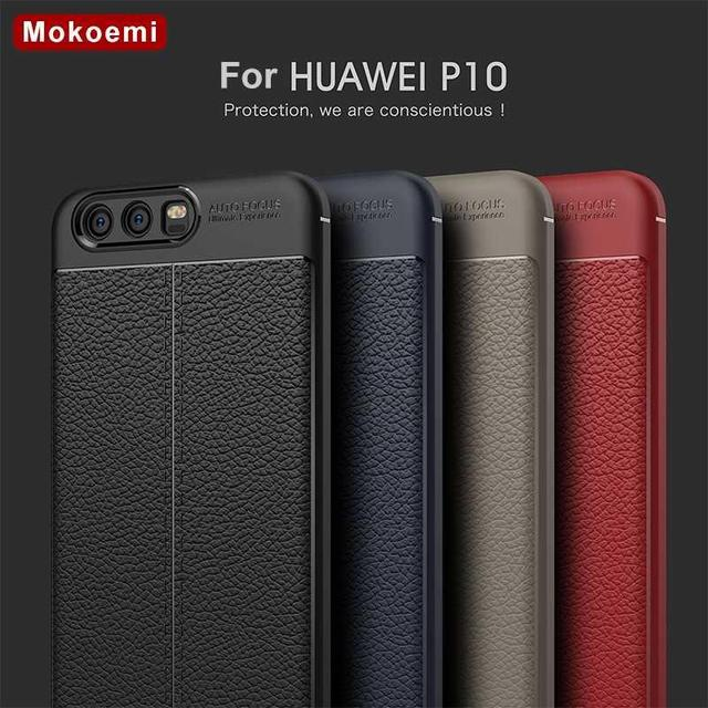 """Mokoemi Fashion Lichee Pattern Shock Proof Soft 5.1""""For Huawei P10 Case For Huawei P10 Plus Cell Phone Case Cover"""