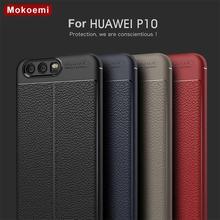 Mokoemi funda con diseño de lichi a la moda para Huawei P10, funda suave a prueba de golpes de 5,1 pulgadas para teléfono móvil Huawei P10 Plus