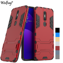 Wolfsay Cover Oppo F11 Pro Case Shockproof Stylish Hybrid PC Armor Phone Case For Oppo F11 Pro Cover Shell For Oppo F11 Pro Case швабра topoto f11