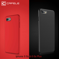 CAFELE luxury Hard PC Case For iphone 6s plus Fashion silky touch feel Slim Back Anti-fingerprint Phone Cover for iphone 6 plus