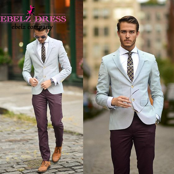 Mens Slim Fit Summer Suits | My Dress Tip