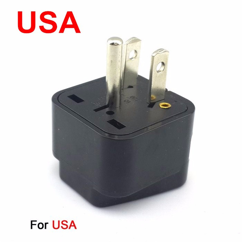 Universal 3pin AC Germany or Europe EU or AU or USA or United Kingdom UK Power Plug Adapter Travel Converter Australia UK USA EU коробка для мушек snowbee easy vue waterproof fly box large