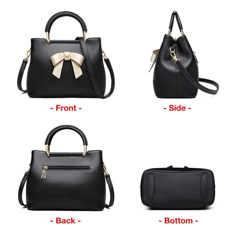 FOXER Brand New Fashion Design Women Elegant Bow Tote Female Winter Crossbody & Shoulder Bags Lady Style Handbag Drop Shipping
