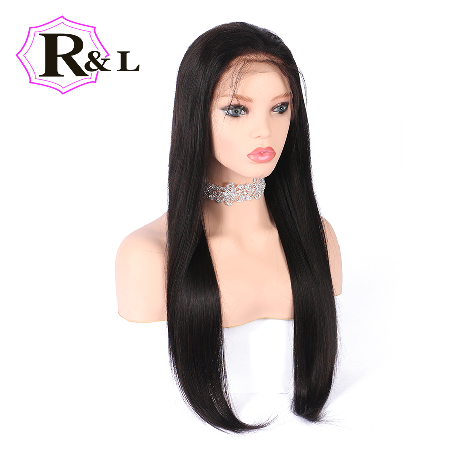 RULINDA 13 4 Lace Front Human Hair Wigs For Women Pre Plucked Straight Brazilian Remy Human