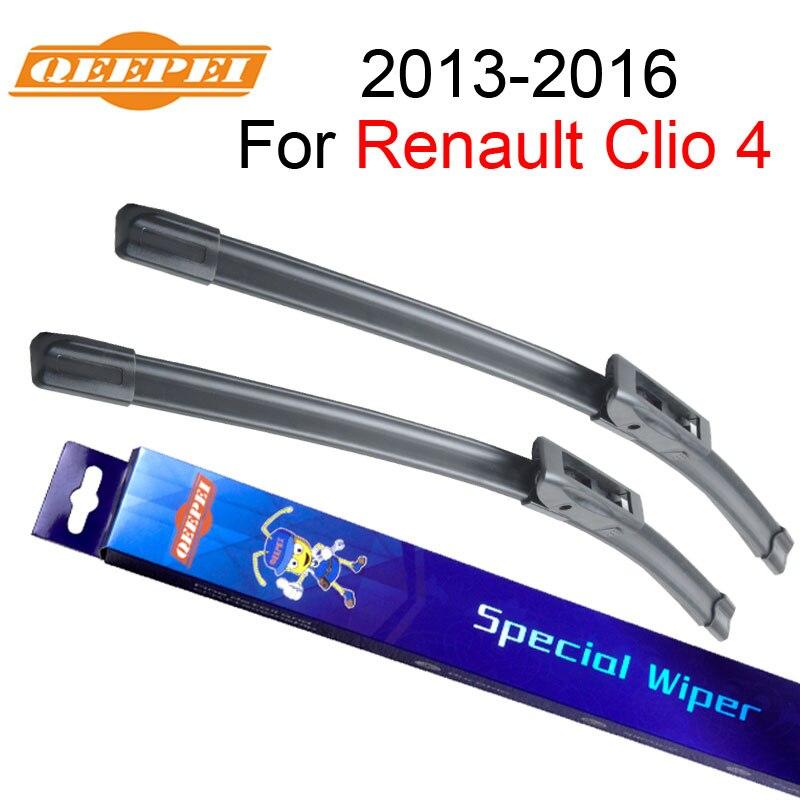 """QEEPEI Spazzole Tergicristallo Per Renault Clio 4 24 """"+ 14"""" 2"""