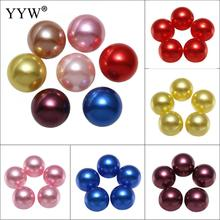 500/600pcs Plastic Imitation Pearl Beads Round Loose Pearl Beads for Necklace Bracelet DIY Jewelry Making 6mm 8mm