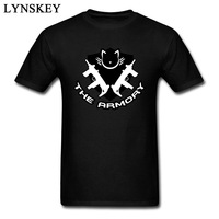 The Armory Logo Men S T Shirt Heavy Metal Band Tshirts Custom Cotton Short Sleeve Mens