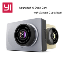 Upgraded International Edition Xiaomi YI Smart Car DVR WiFi Dash Camera with Suction Cup Mount 1080P 60fps Car Camera Registrar