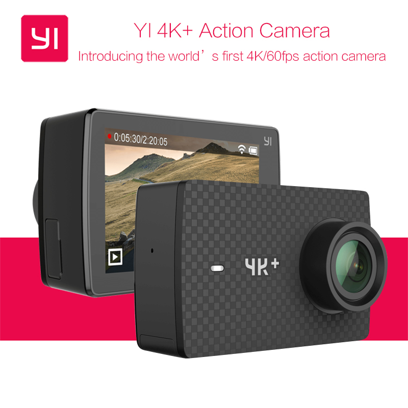 Image result for Xiaomi Yi+ 4K 60fps Action Camera