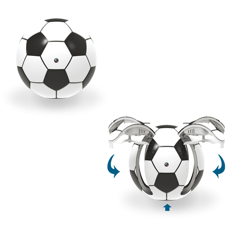 Creative Mini RC Folding Ball Drone with HD Camera 6