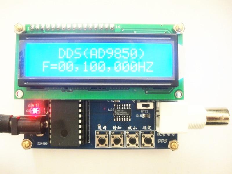 ФОТО signal generator DDS module DDS signal source AD9850 (0~30M)