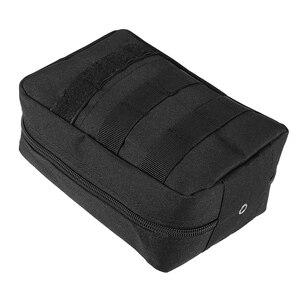 Image 4 - Lixada First Aid Kit Leere Tasche Reise Notfall Überleben Pouch Medical Lagerung Tasche Medizin Paket Pack Reisen Erste Hilfe Tasche