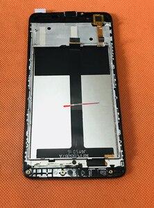 """Image 2 - Originele Touch screen + lcd scherm + Frame voor Blackview P2 MT6750T Octa core 5.5 """"FHD gratis verzending"""