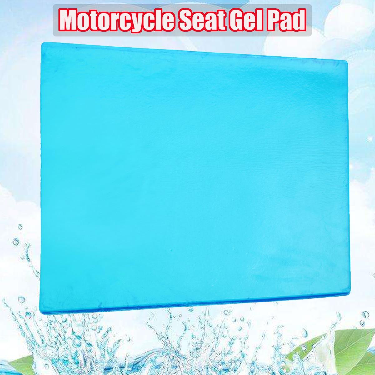 Nouveau bricolage modifié 48x35x2 cm tapis confortable Absorption des chocs tapis épaisseur amortissement Silicone Gel Pad moto siège coussin