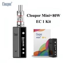 VAPE Пера электронных сигарет кальян Cloupor Mini + 80 Вт поле mod kit испаритель для пара шторм EC 1 распылитель электронная сигарета X1070