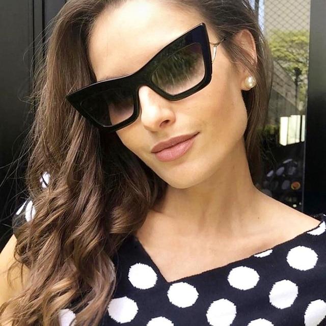 9 Eye 50Off Gradient Vintage dpz Women Design Glasses De Oculos Original In Cat Sunglasses 2019 Us11 Sun Sol Style Brand Package Fashion bYgy76vf