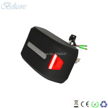 24 volt 250w 350w e scooter battery 24v 10ah 12ah 13ah 14.5ah 15ah 16ah electric folding bike battery with taillight(China)