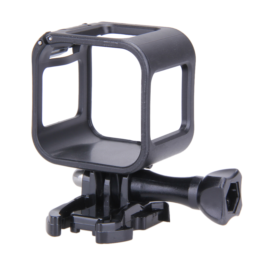 ABS Black Low Profile Housing Frame Cover Case Mount Holder for GoPro Hero 4 5 Session L3FE side open skeleton housing protective case cover mount for gopro hero 4 3 new r179 drop shipping