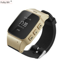 D99 Elderly Smart Watch For Xiaomi iPhone Anti lost Gps Lbs Wifi Tracking With WIFI Mini
