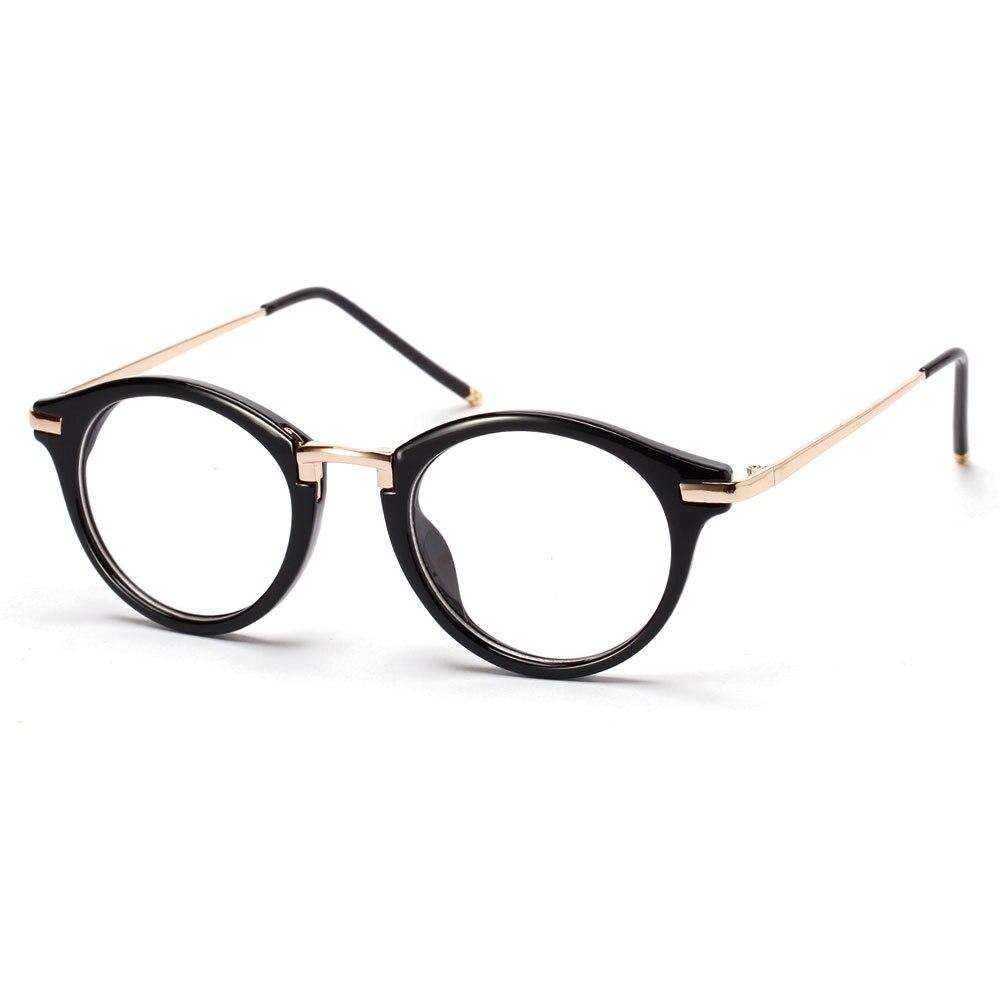 Luxury Brand Eyeglasses Retro Glasses Frames Women Clear ...