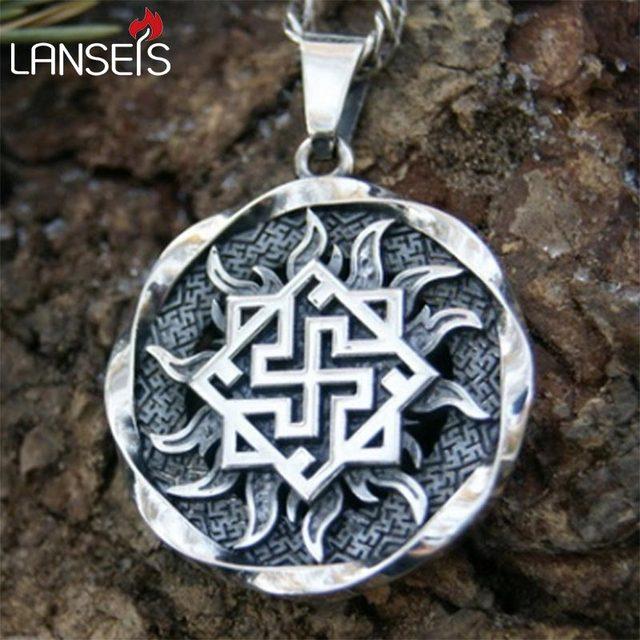 Lanseis10pc Valkyrie Pendant Pagan Amulet Slavic Symbol Warrior