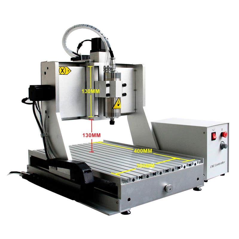 USB Mini CNC Engraving Machine Ball Screw 1.5KW Spindle CNC 3040 Lathe Woodworking Machine with 130mm Z-Axis Stroke