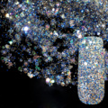 Dazzling Abalone Transparents Sequins Dust DIY Nail Glitter Decorations Nail Art Designs Blue Acrylic UV Mix Glitter Powder 282