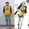 Trajes de cosplay Anime one piece Trafalgar Law cosplay Trafalgar Law (Clothes + pants + hat)