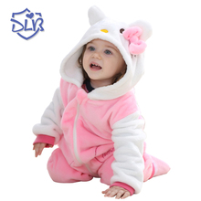 Cute Baby New Design Clothes Soft Cashmere Comfortable Baby Girls Rompers Unique Character Hooded Newborn Baby Romper autumn baby fashion cute warm rompers cute rabbit ears design baby bunny hooded romper newborn boys and girls one pieces suits