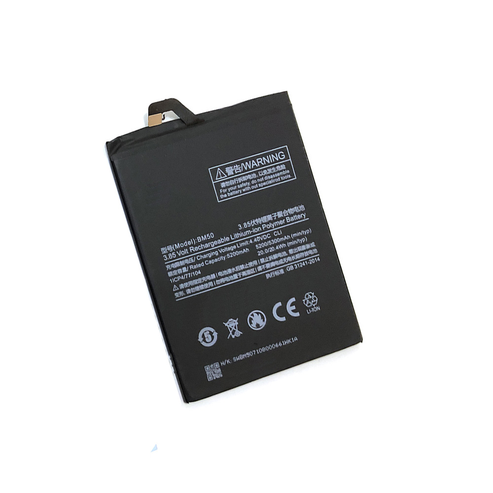 Mobile Phone Batteries Battery Bm50 For Xiaomi Mi Max 2 Max2 Original Replacement Batterie 5200mah+tools Cellphones & Telecommunications