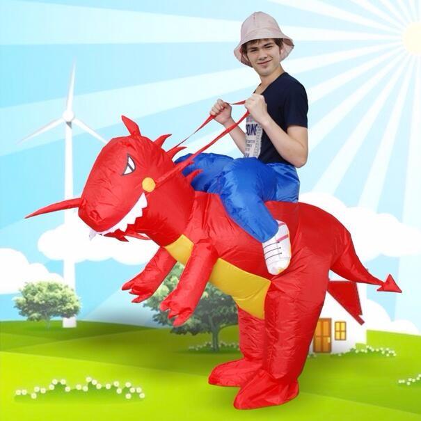 DB23985 inflatable dinosaur costume-2