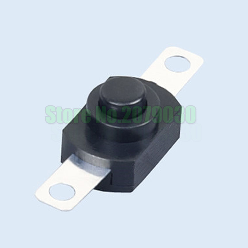 ON OFF LED bulb switch mini Flashlight button switch Power switch self-locking with hole