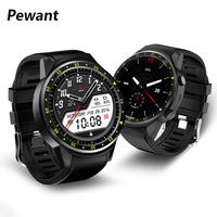 New Pewant GPS Sport Smart Watch 1.3 Inch MTK2503 Bluetooth Smartwatch Support SIM Card Wristwatch With Camera For Androed iOS
