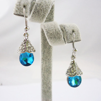 NO MINIMUM ORDER luxury drop earring Christmas gift Accessories orley product crystal earring manjaris image